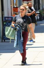 Hilary Duff Goes shopping in Studio City