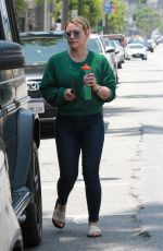 Hilary Duff Seen out in Studio City