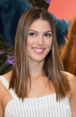 Iris Mittenaere At Jungle Book Jive Photocall at Lion King Festival at Disneyland Paris