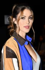 Iris Mittenaere Attends the Schiaparelli Haute Couture Fall/Winter 2019 2020 show as part of Paris Fashion Week