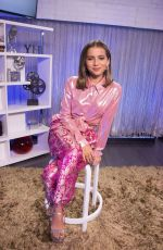 Isabela Moner Visits the Young Hollywood Studio in Los Angeles