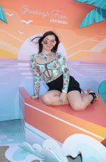 Isabella Gomez At Instagram's 3rd Annual Instabeach Party in Pacific Palisades