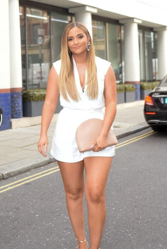 Jacqueline Jossa Arriving at VO5 x Love Island party in London