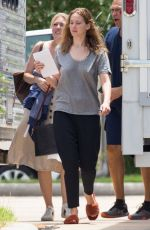 Jennifer Lawrence On the set of the untitled Lila Neugebauer project in New Orleans