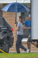 Jennifer Lawrence On the set of untitled Lila Neugebauer project in New Orleans