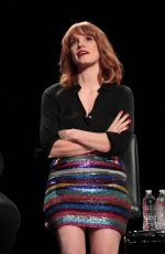 Jessica Chastain At 3rd Annual ScareDiego Presents It: Chapter 2 at San Diego Comic Con
