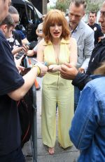 Jessica Chastain Is seen in San Diego