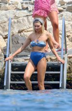 Jessica Hart At Beachwear photoshoot in Cannes