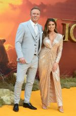 Jessica Wright At The European Premiere of