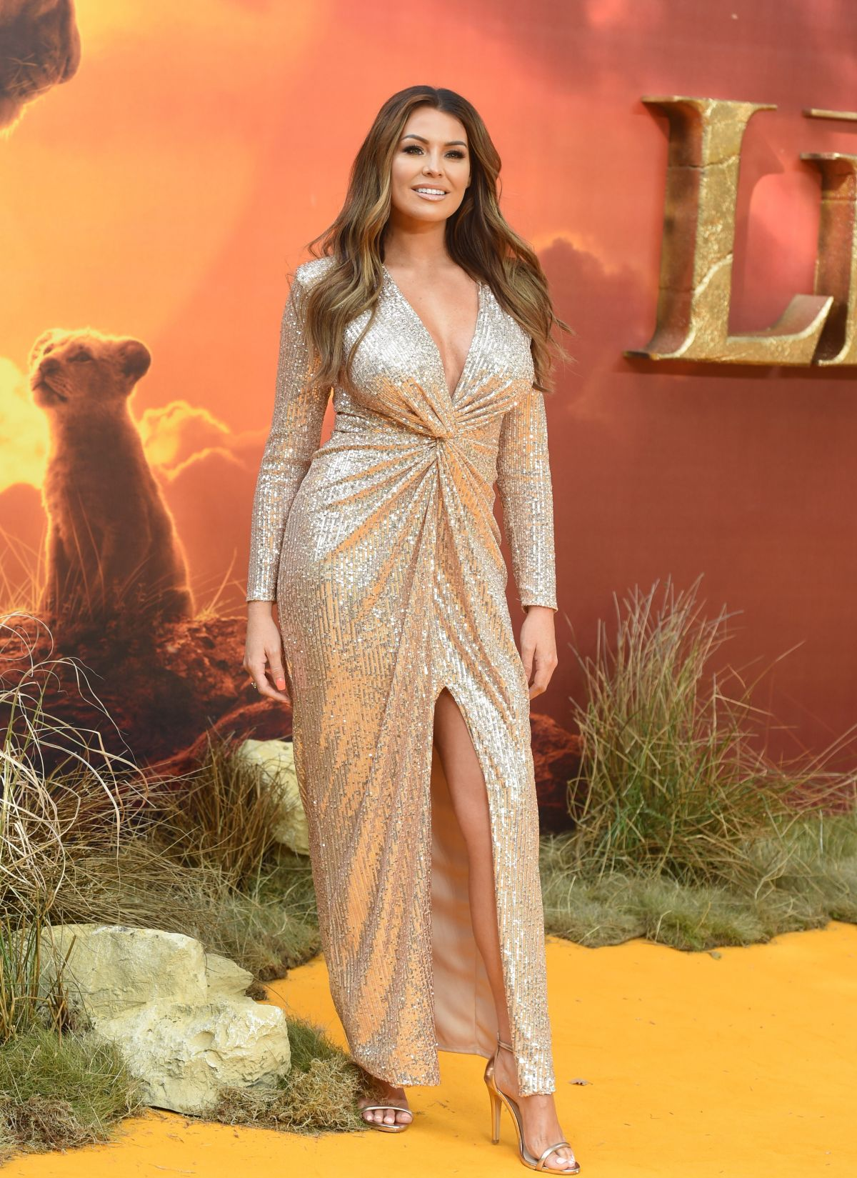 jessica wright at the european premiere of  u2018the lion king u2019 at the odeon luxe  leicester square