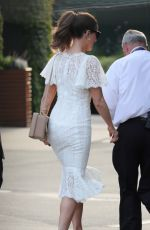 Kate Beckinsale Arriving at Wimbledon in London