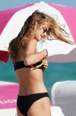 Kate Bock In a bikini at the beach in Miami