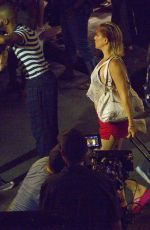 Kate Hudson On the set of