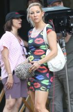 Kate Hudson Spotted filming her new movie Mona Lisa and the Blood Moon in New Orleans