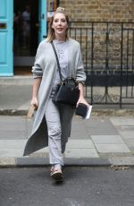 Katherine Ryan Exits Saturday Kitchen in casuals in London