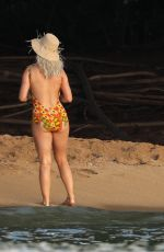 Katy Perry In a swimsuit shooting her new music video in Hawaii