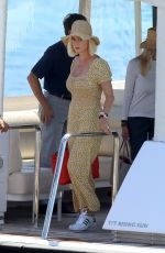 Katy Perry On a boat in Ibiza