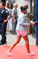 Keke Palmer Arriving at