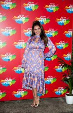 Kelly Brook At VIP launch of Just Eat Food Fest Taste Adventure in London