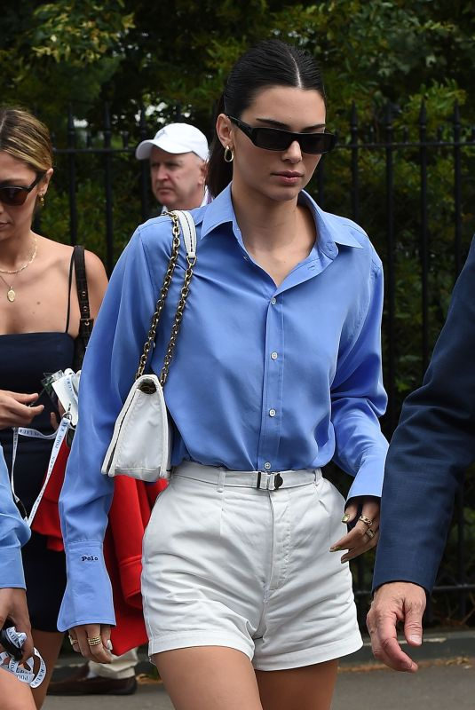 Kendall Jenner At 2019 Wimbledon Championships in London