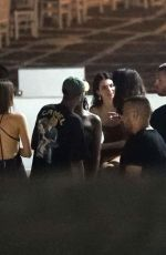 Kendall Jenner Out with friends on Mykonos Island