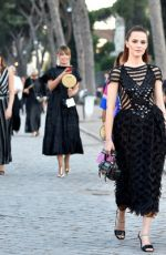 Kiernan Shipka Attend the Cocktail at Fendi Couture Fall Winter 2019/2020 in Rome, Italy