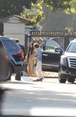 Kim Kardashian Arriving at the White House in Washington