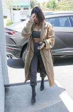 Kim Kardashian Spotted going to an art store in Los Angeles
