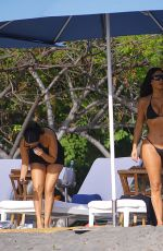 Kim & Kourtney Kardashian Have fun on a tropical vacation in Puntarenas, Costa Rica