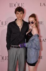 Larsen Thompson At Lancôme Announces Zendaya as Face of New Idôle Fragrance in Paris