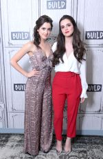 Laura and Vanessa Marano At Build Studio in NYC