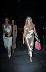 Leanne Brown Leaving the Hilton Hotel Manchester