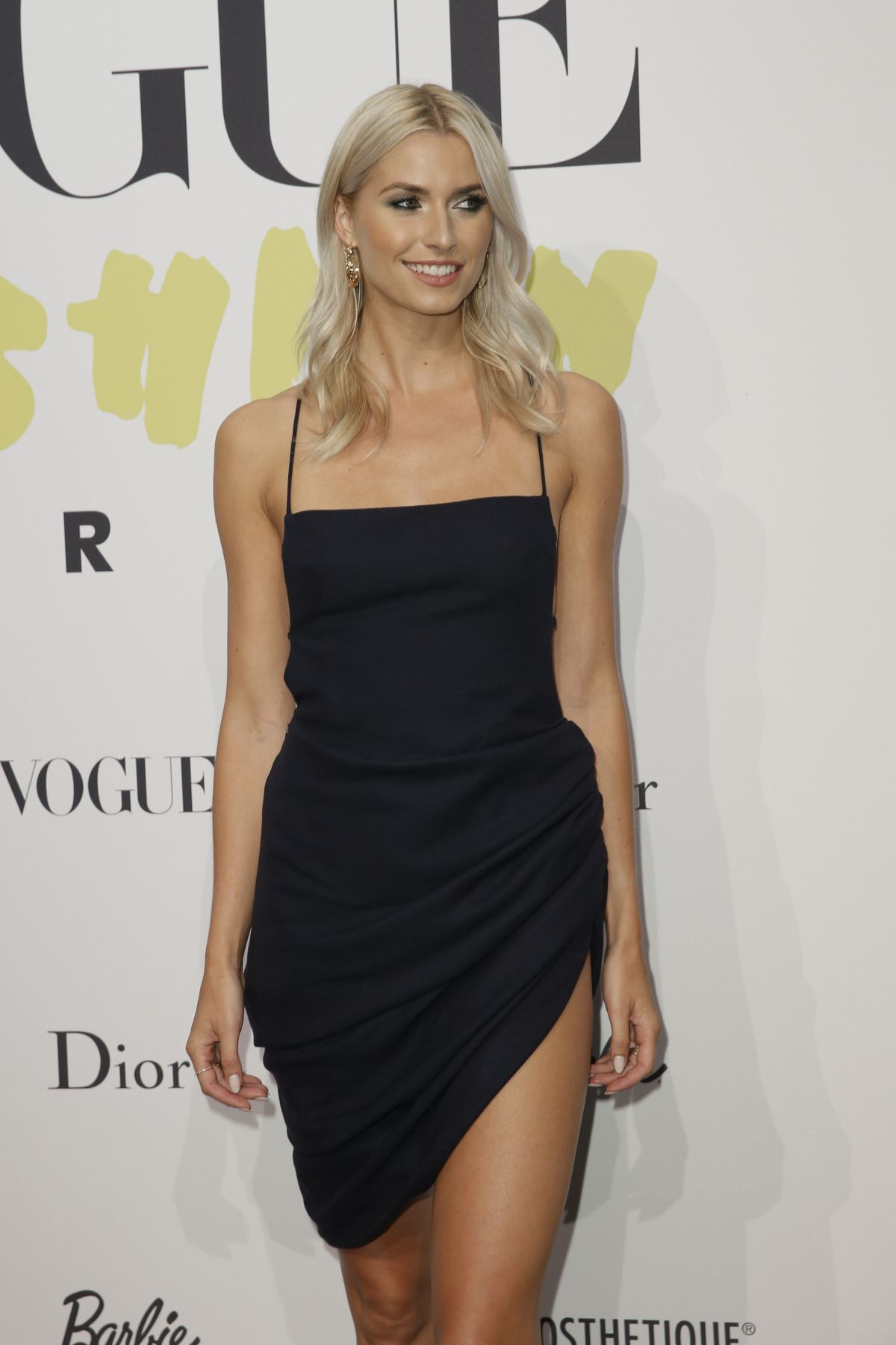 Lena Gercke At Vogue Celebrating 40 Years Party In Berlin