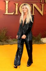 Louisa Johnson At The European Premiere of