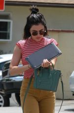Lucy Hale At Harvest Moon in Studio City