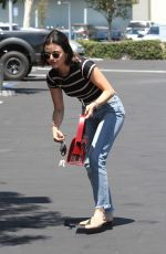 Lucy Hale At the Coffee Bean in Studio City