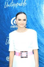 Madeline Carroll At Unstoppable Film Premiere at Arclight Theatre in Hollywood