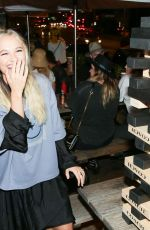 Madison Iseman At Coach's Art of Signature Pop-up Opening Celebration in West Hollywood