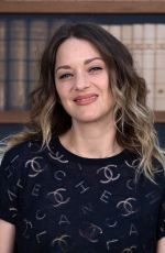 Marion Cotillard At Chanel Haute Couture Fall/Winter 2019/2020 during the Paris Fashion Week in Paris