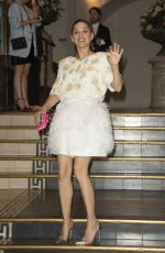 Marion Cotillard At Paris Fashion Week in Paris