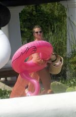 Millie Mackintosh Heading for a day by the pool during girls weekend in Ibiza