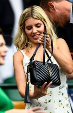 Mollie King At Wimbledon Tennis Championships, Day 6, The All England Lawn Tennis and Croquet Club, London