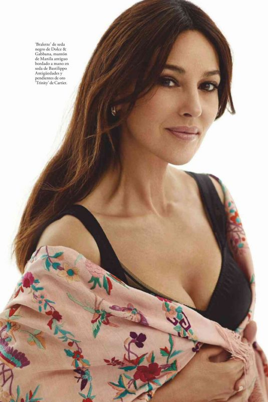 Monica Bellucci - Elle Magazine Spain, August 2019