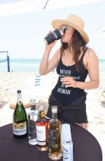 Myla Dalbesio At SI Mix Off At The Model Mixology Competition in Miami Beach