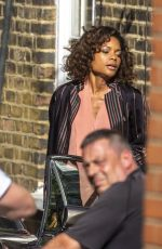 Naomi Harris On the set of
