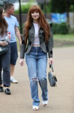Nicola Roberts Arrives at the Peter Pan launch in London