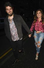 Nikki Sanderson At Night Out in Manchester