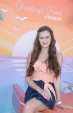 Olivia Sanabia At Instagram's 3rd Annual Instabeach Party in Pacific Palisades