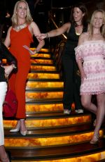 Penny Lancaster At Quaglinos at St James in London