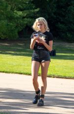 Pixie Lott Showed off her cheeky side as she attended House Festival at Hampstead Heath